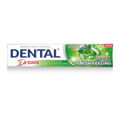 Dental Dream Super Fresh Feeling Паста за зъби против лош дъх х100 мл
