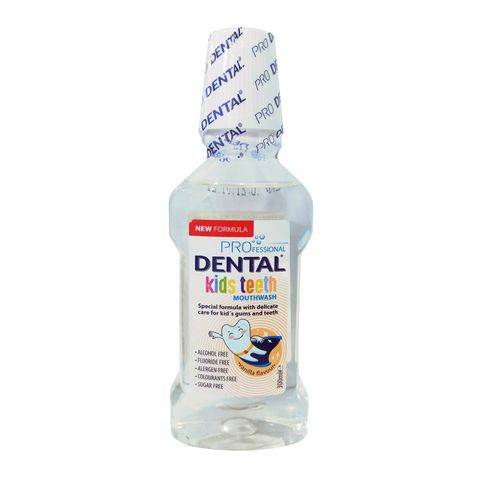Dental Kids Безалкохолна вода за уста за деца х300 мл