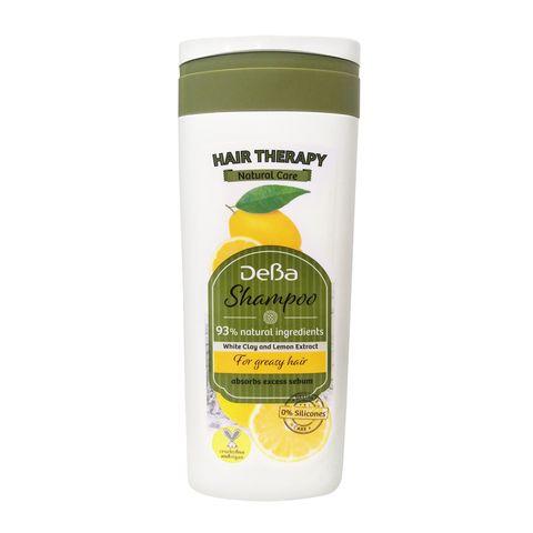 Deva Hair Therapy Natural Care Шампоан за мазна коса с бяла глина и лимон х250 мл