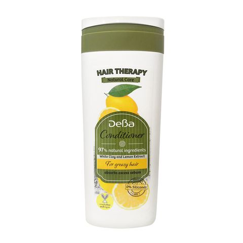 Deva Hair Therapy Natural Care Балсам за мазна коса с бяла глина и лимон х250 мл