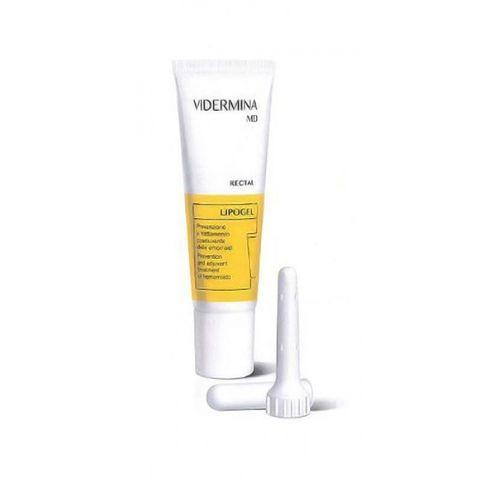 Vidermina MD Rectal Lipogel при хемороиди и дискомфорт в областта на ануса х30 мл