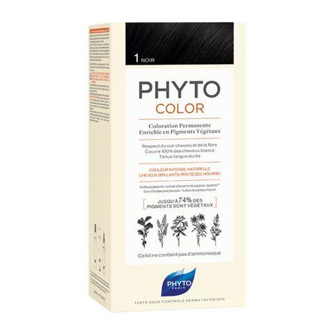 Phyto Color Дълготрайна боя за коса, цвят 1 Black х1 брой