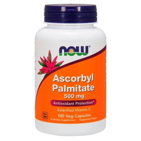 Now Foods Аскорбил Палмитат за антиоксидантна защита 500 мг х100 капсули