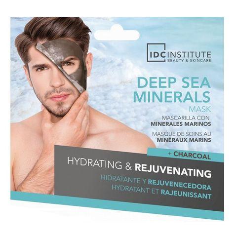 IDC Institute Deep Sea Minerals Хидратираща и подмладяваща маска за мъже с морски минерали х22 грама