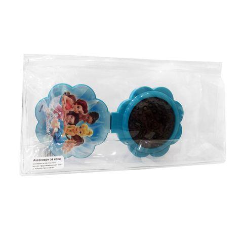 Inter-Vion Disney Fairies Сгъваема четка за коса с огледало и несесер
