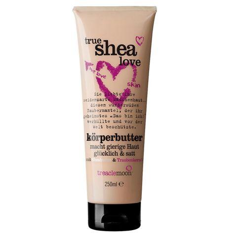 Treaclemoon True Shea Love Подхранващо масло за тяло с масло от ший х250 мл
