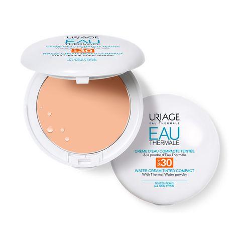 Uriage Eau Thermale Термална хидратираща крем-пудра за лице с фактор SPF30 х10 грама