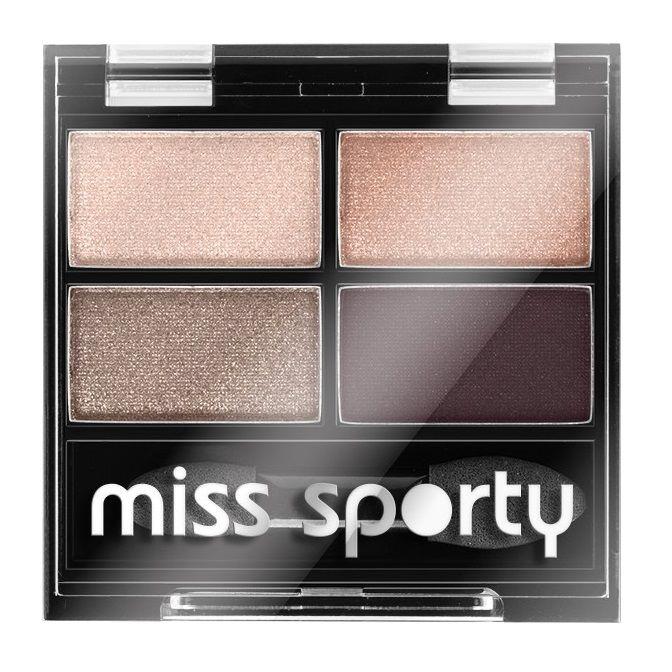 Miss Sporty Studio Colour Quattro Палитра със сенки за очи, цвят 408 х1 брой