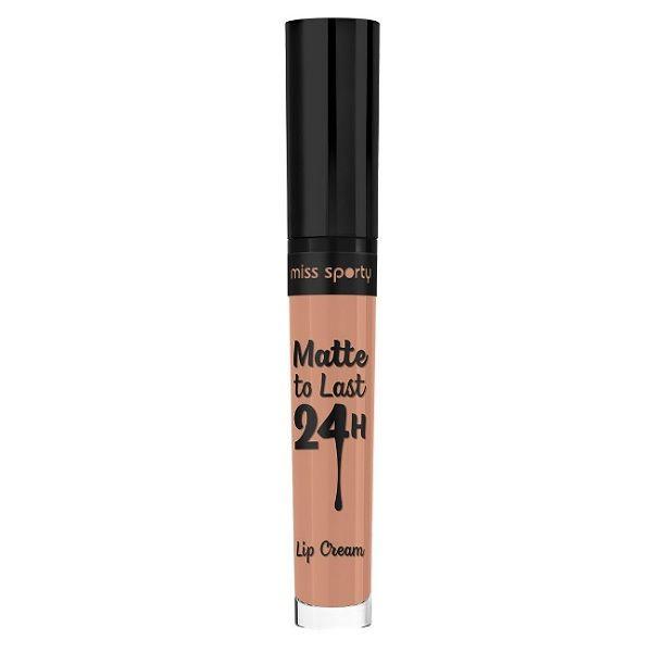 Miss Sporty Matte To Last 24H Течно матово червило за устни, цвят 100 Fresh Nude