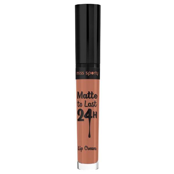 Miss Sporty Matte To Last 24H Течно матово червило за устни, цвят 110 Vibrant Mocha