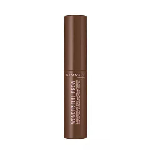 Rimmel Wonder'full Brow Водоустойчив стилизиращ гел за вежди, 002 Medium brown