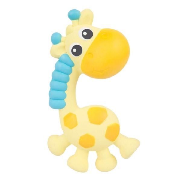 Playgro Гризалка-пискун от каучук Жирафчето Джери за деца над 3 месеца - 0342