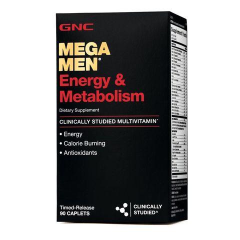GNC Mega Men Енергия и метаболизъм х90 каплети