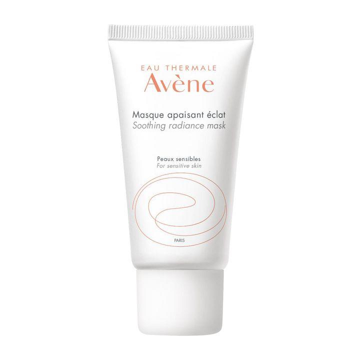 Avene Eau Thermale Успокояваща и озаряваща маска за лице за чувствителна кожа х50 мл