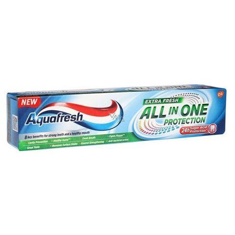 AquaFresh All in One Protection Extra Fresh Паста за зъби за цялостна защита и нежно избелване х75 мл