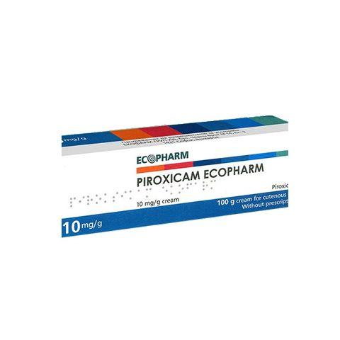 Ecopharm Пироксикам Екофарм крем при възпаление и болка 10 mg/g х100 грама