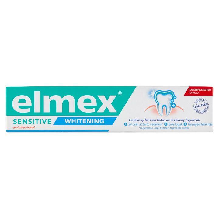Elmex Sensitive Whitening Избелваща паста за чувствителни зъби х75 мл