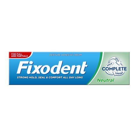 Fixodent Complete Neutral Фиксиращ крем за зъбни протези х47 грама
