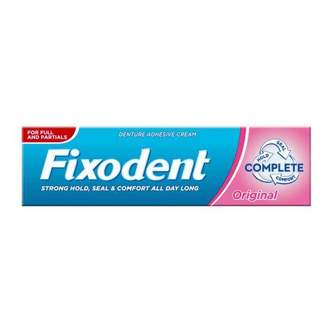 Fixodent Complete Original Фиксиращ крем за зъбни протези х47 грама