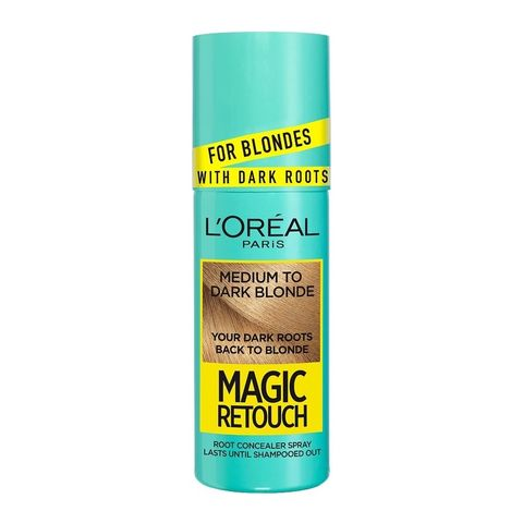 L'Oreal Magic Retouch Спрей за изрусена коса за прикриване на тъмни корени, Medium to Dark х75 мл