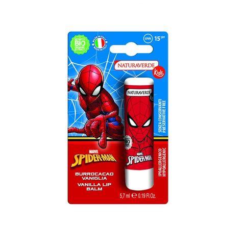 Disney Spiderman Балсам за устни с пчелен восък SPF15 х5,7 мл