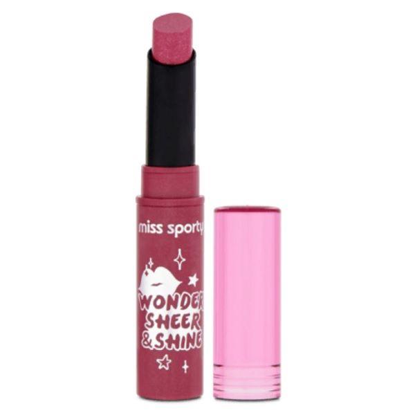 Miss Sporty Wonder Sheer & Shine Червило за устни, цвят 200
