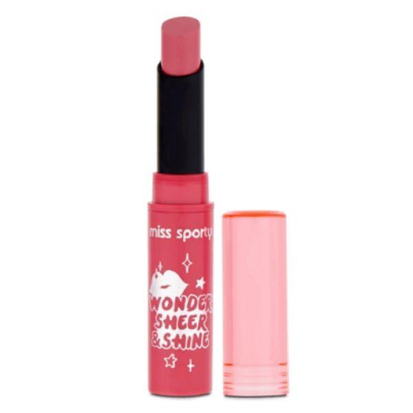 Miss Sporty Wonder Sheer & Shine Червило за устни, цвят 210