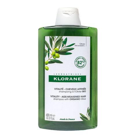 Klorane Шампоан с екстракт от маслина за тънка и изтощена коса x400 мл