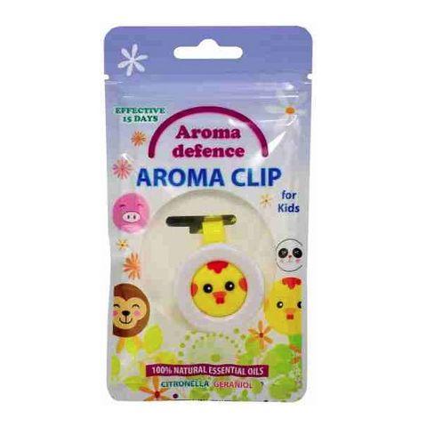 Z-Repelenti Aroma Defence Клипс за деца с аромат на цитронела и гераниол