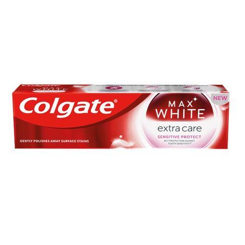 Colgate Max White Extra Care Sensitive Protect Избелваща паста за чувствителни зъби х75 мл