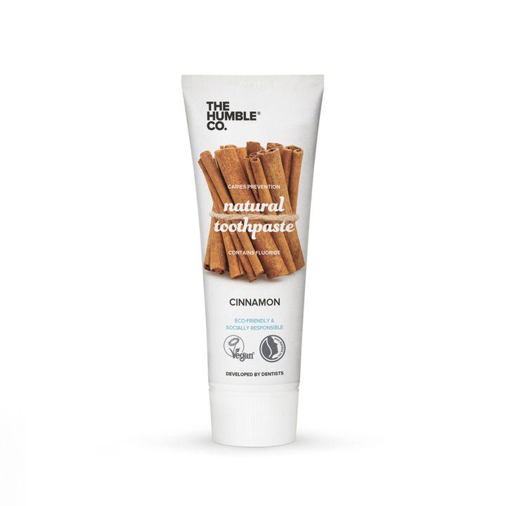 The Humble Co. Natural Tootpaste Cinnamon Паста за зъби за възрастни с канела x75 мл