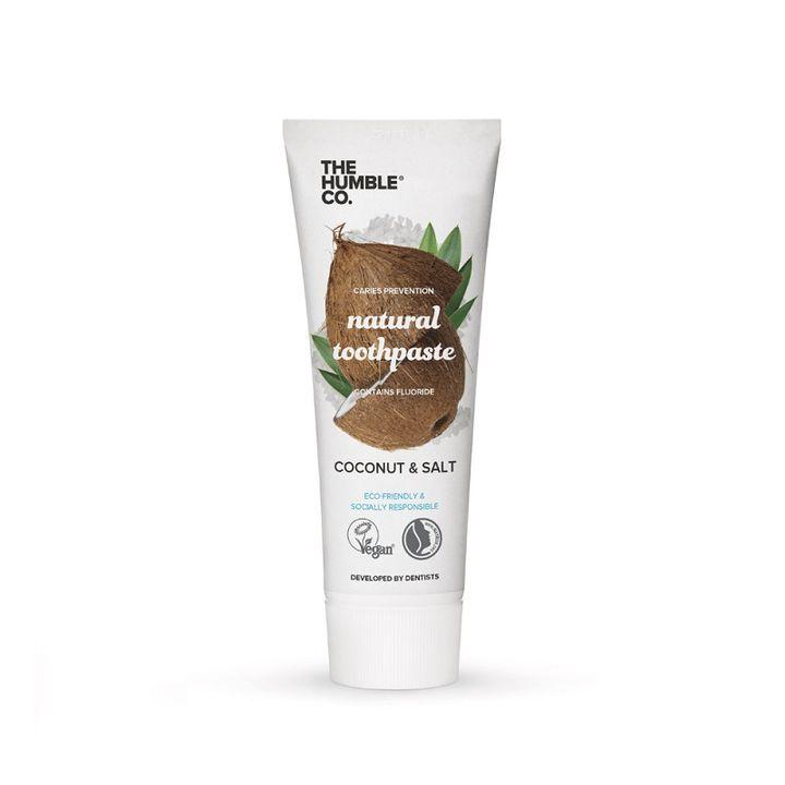 The Humble Co. Natural Toothpaste Coconut Flavour & Salt Паста за зъби за възрастни с кокос и морска сол x75 мл