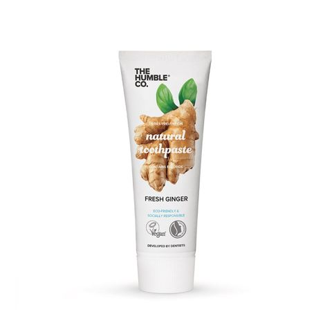 The Humble Co. Natural Toothpaste Fresh Ginger Паста за зъби за възрастни с джинджифил x75 мл