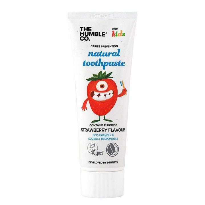 The Humble Co. Kids Натурална паста за зъби за деца с вкус на ягода х75 мл