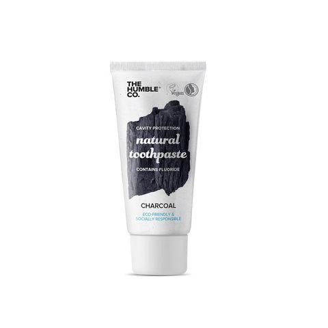 The Humble Co. Natural Toothpaste Charcoal Паста за зъби за възрастни с активен въглен x10 мл