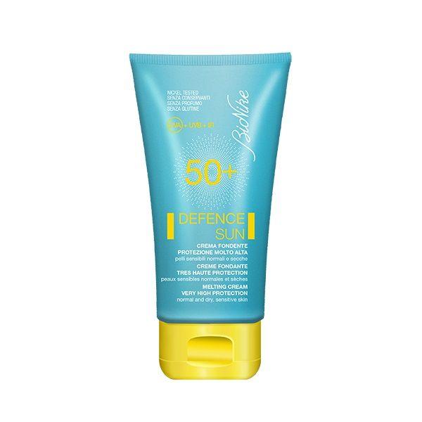 Bionike Defence Sun Топящ се слънцезащитен крем за нормална, суха и чувствителна кожа SPF50+ х50 мл