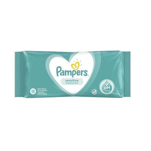 Pampers Sensitive Мокри кърпички x12 броя