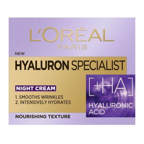 Loreal Hyaluron Specialist Изпълващ и подхранващ нощен крем за лице х50 мл