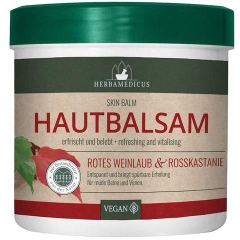 Herbamedicus Балсам с лозови листа и конски кестен х250 мл