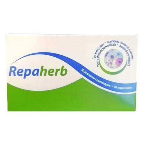 Repaherb Ректални супозитории при хемороиди х10 броя