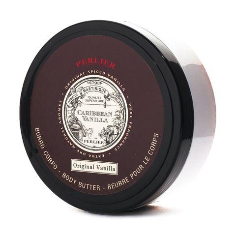 Perlier Caribbean Vanilla Подхранващо масло за тяло с аромат на ванилия х200 мл