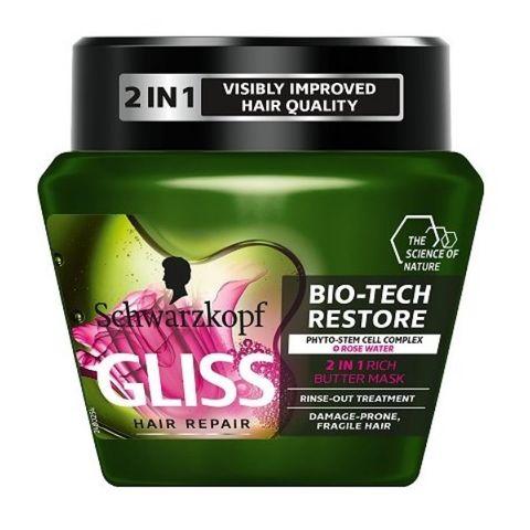 Gliss Bio-Tech Restore Възстановяваща маска за крехка и склонна към увреждане коса х300 мл