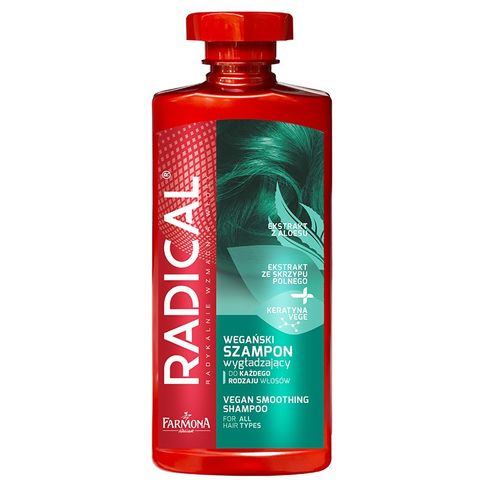 Farmona Radical Vegan Веган изглаждащ шампоан за коса с кератин х400 мл