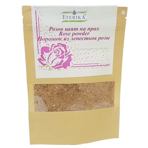Eterika Натурален Розов цвят на прах х30 грама