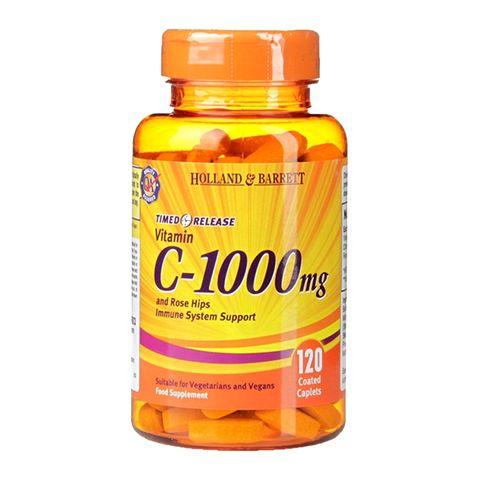 Holland and Barrett Витамин C 1000 мг х120 таблетки с удължено освобождаване