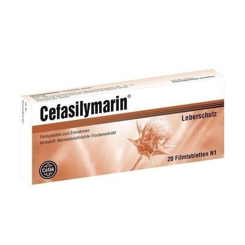 Цефасилимарин за здрав черен дроб 105 мг х20 таблетки