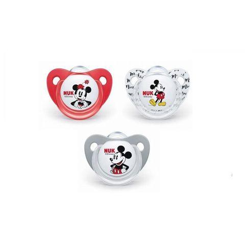 Nuk Disney Залъгалка силикон за деца от 0 до 6 месеца x1 брой