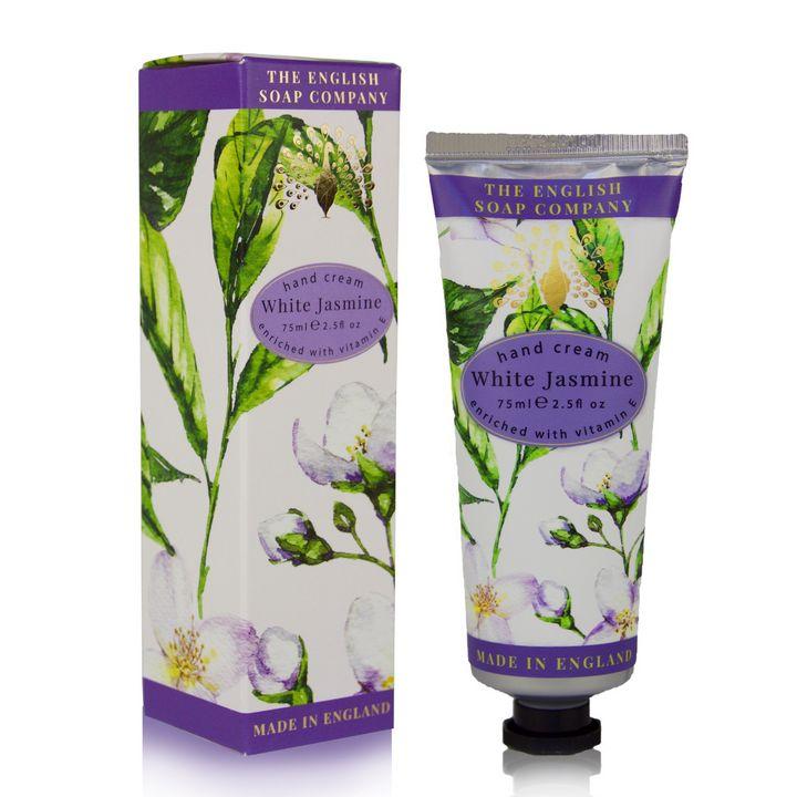 English Soap White Jasmine Крем за ръце с аромат на бял жасмин х75 мл