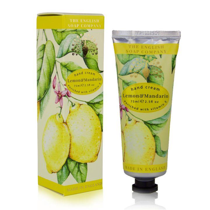English Soap Lemon & Mandarin Крем за ръце с аромат на лимон и мандарина х75 мл
