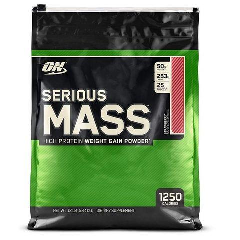 Optimum Nutrition Serious Mass Гейнър Ягода х5440 грама